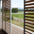 Sliding shutters with extra large dimensions